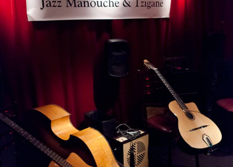 Ninine Garcia Trio Jazz Manouche � Paris 11�me