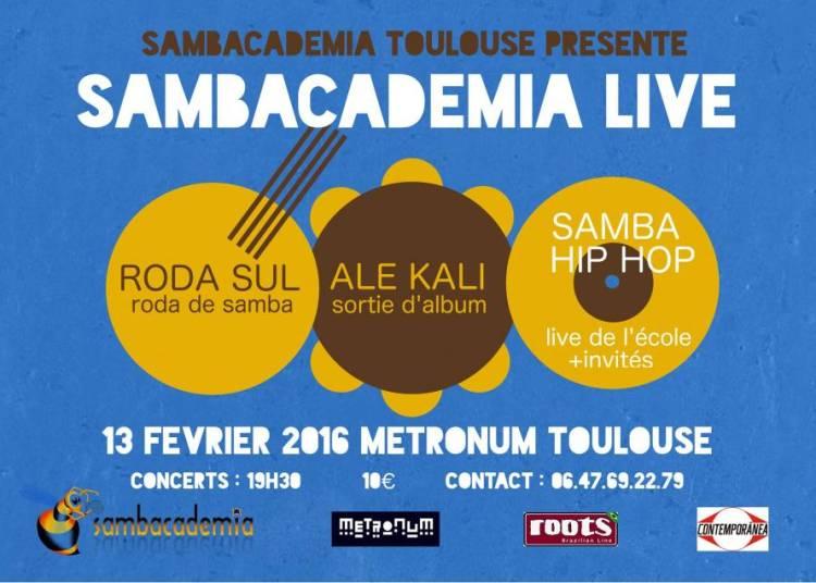 Sambacademia Live : Al� Kali et Roda Sul � Toulouse