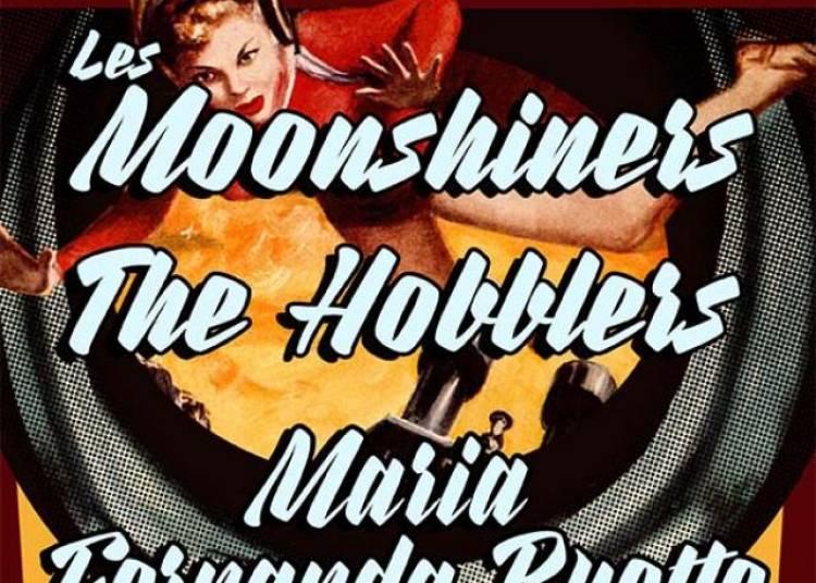 Soutien � L'echomus�e: The Moonshiners, The Hobblers, Maria Fernanda � Paris 18�me