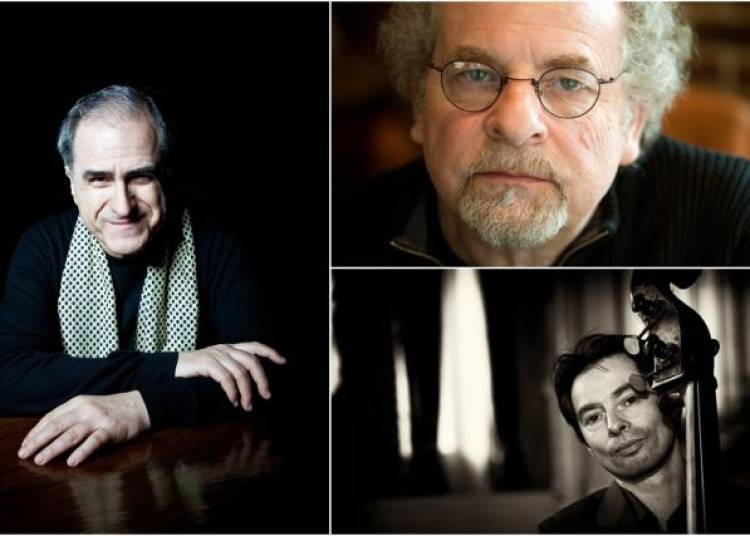 Enrico Pieranunzi, Andr� Ceccarelli et Diego Imbert � Paris 1er