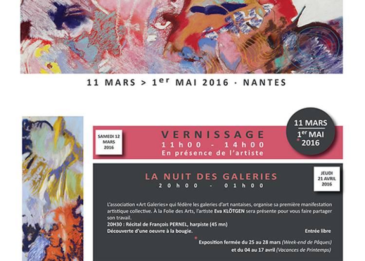 Exposition n�15 : Eva Kl�tgen � Nantes