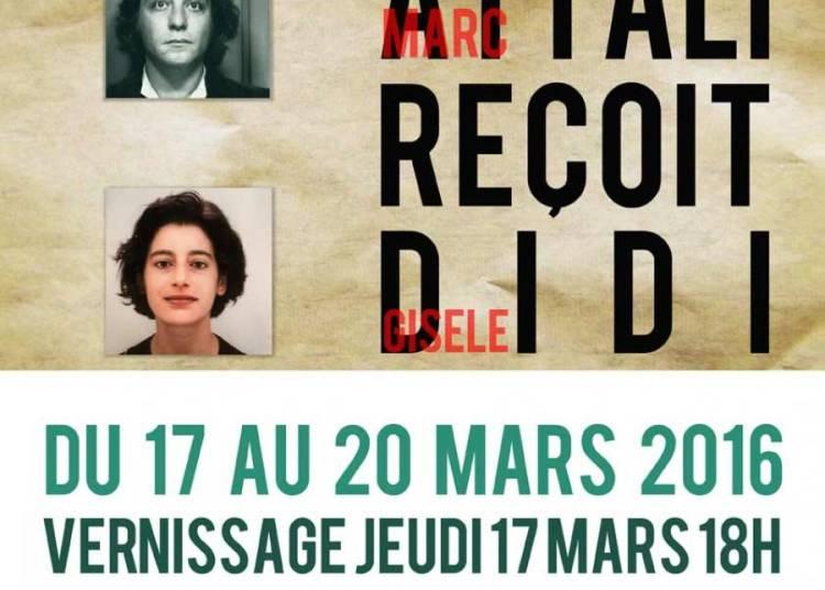 Attali Recoit Didi � Paris 12�me
