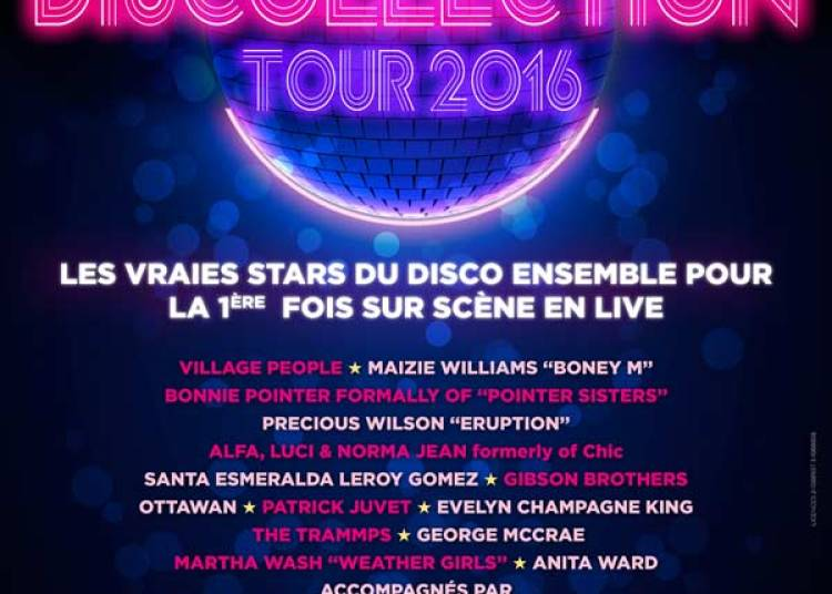 Discollection Tour 2016 � Lyon