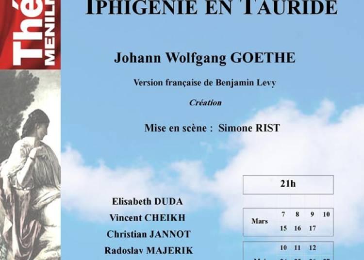 Iphigenie En Tauride � Paris 20�me