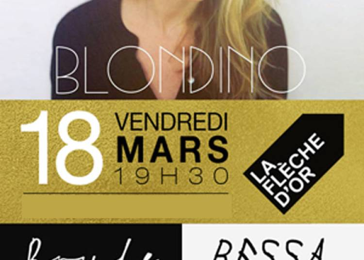 Blondino, Bessa et Bryde � Paris 20�me