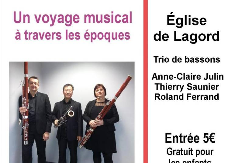 L'heure musicale - basson � Lagord