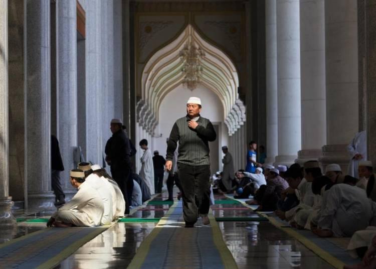 Les Musulmans de Chine � Paris 15�me