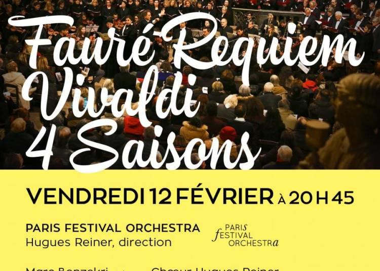 Requiem de  Faur� et Vivaldi 4 Saisons � Paris 8�me