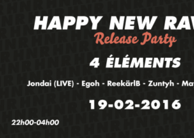 Bambousek Present : Happy New Rave 3 Release Party � Paris 11�me