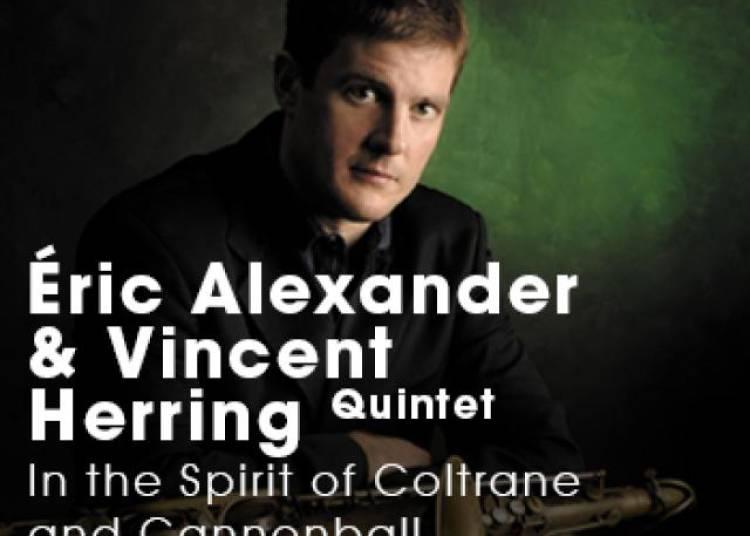 Eric Alexander et Vincent Herring 5et � Paris 1er