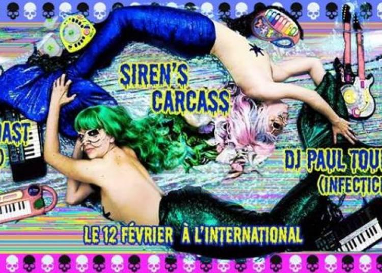 Siren's Carcass, Dj Holowescoast et DJ Paul Tournante � Paris 11�me
