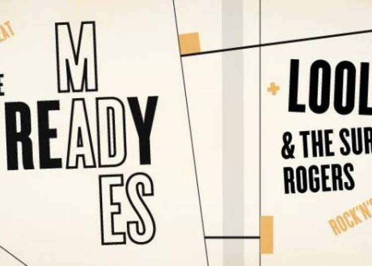 The Ready Mades et Loolie and the Surfing Rogers � Paris 11�me