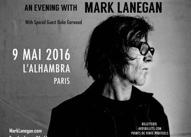 Mark Lanegan � Paris 10�me
