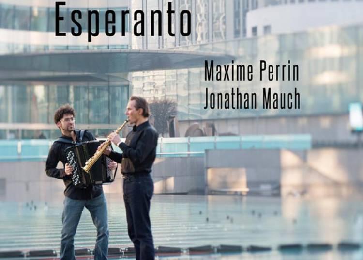 Maxime Perrin & Jonathan Mauch � Paris 1er