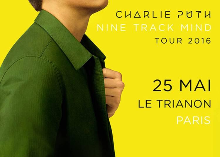 Charlie Puth � Paris 18�me