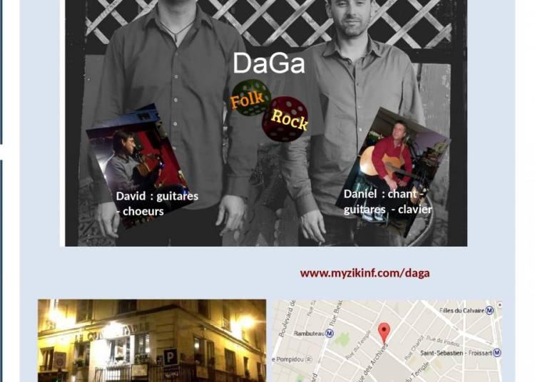 DaGa en concert � Paris 3�me