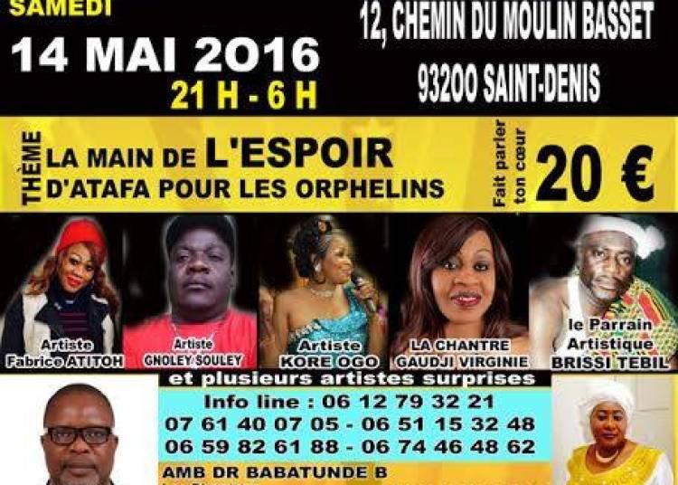 Grande Soir�e De Bienfaisance � Saint Denis