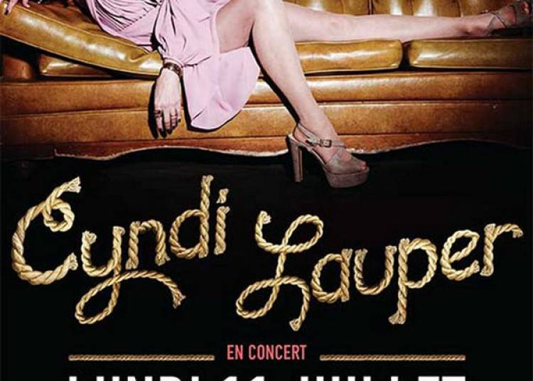 Cyndi Lauper � Paris 2�me