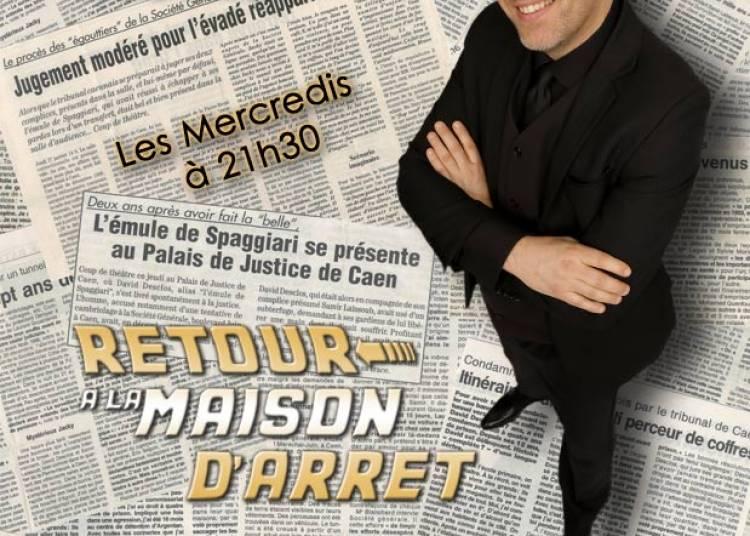 David Desclos dit Lupin, Retour � la maison d'arr�t � Paris 10�me
