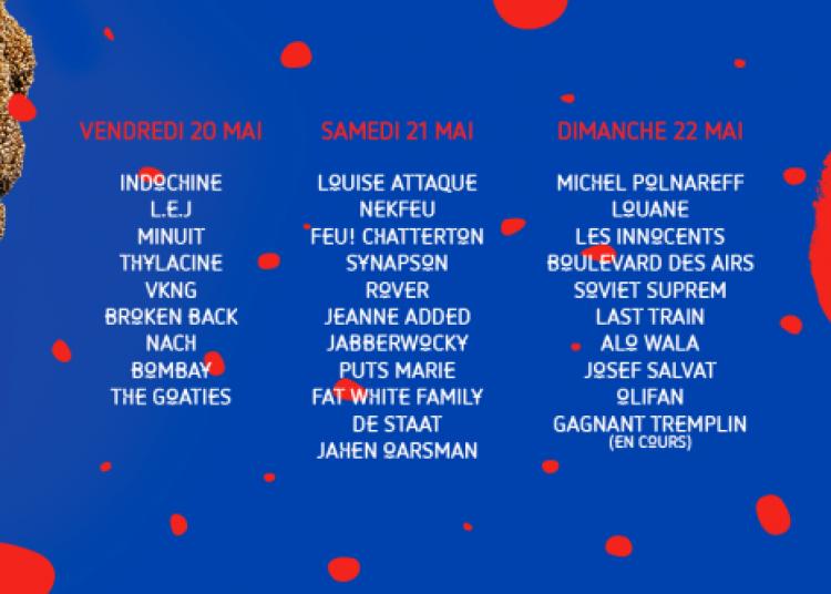 Louise Attaque, Nekfeu, Jabberwocky et Synapson à Saint Laurent de Cuves