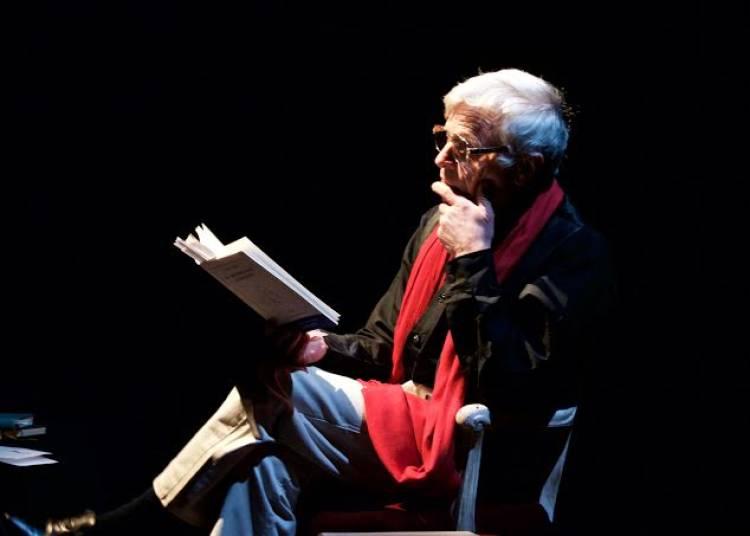 Lecture par Fran�ois Millet. � Avignon