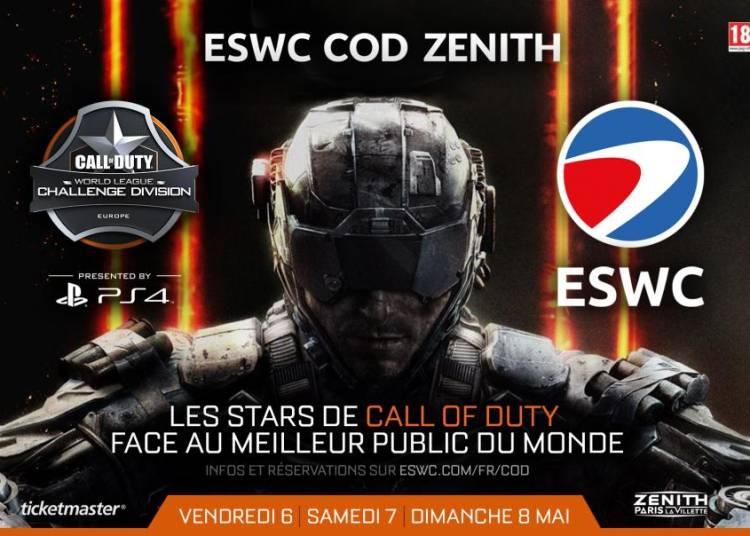 ESWC 2016 Call of Duty � Paris 19�me