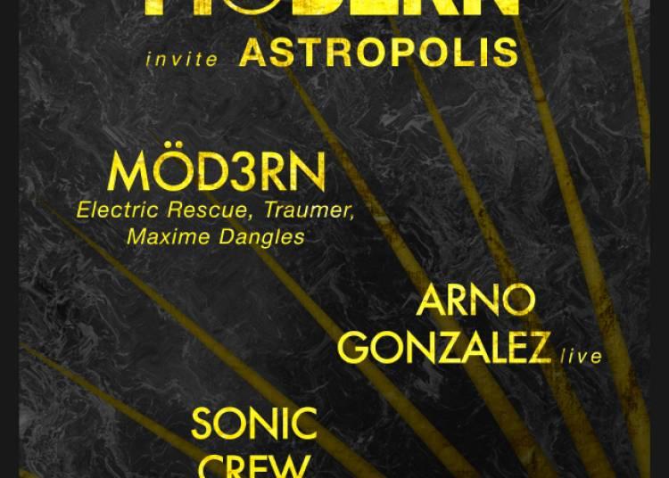 Modern Invite Astropolis � Angers