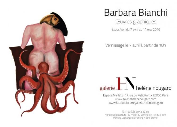 Laissez vous surprendre par le bestiaire onirique de Barbara Bianchi � Paris 5�me