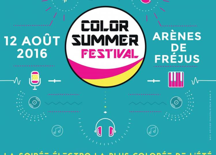 Color Summer Festival 2016 � Frejus
