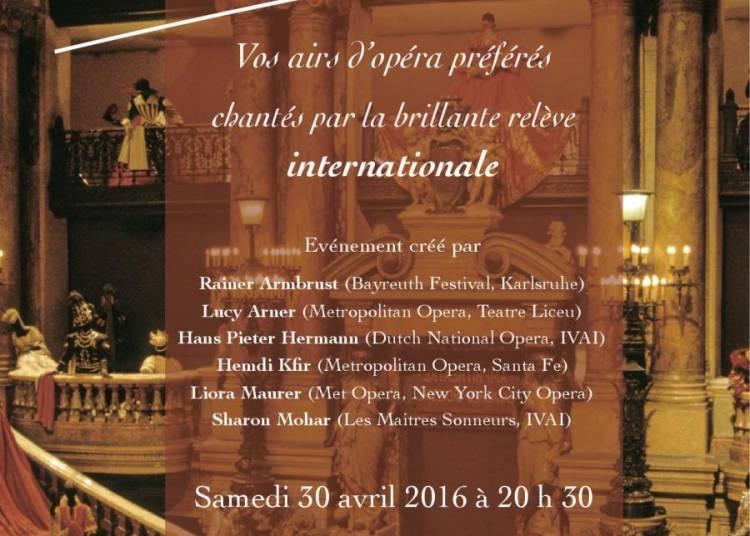 Gala Opera Canto - Par l'�quipe enseignante du Metropolitan opera de New York � Toulouse