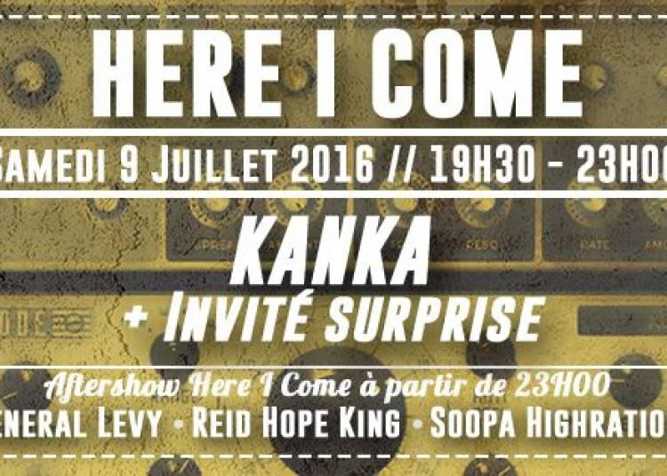 Here I Come X Black Summer Festival: Kanka et Invit� Surprise � Paris 19�me