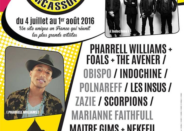 Pharrell Williams et Foals � Carcassonne