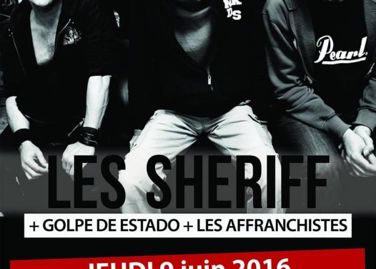 Les Sheriffs et Golpe De Estado � Lyon