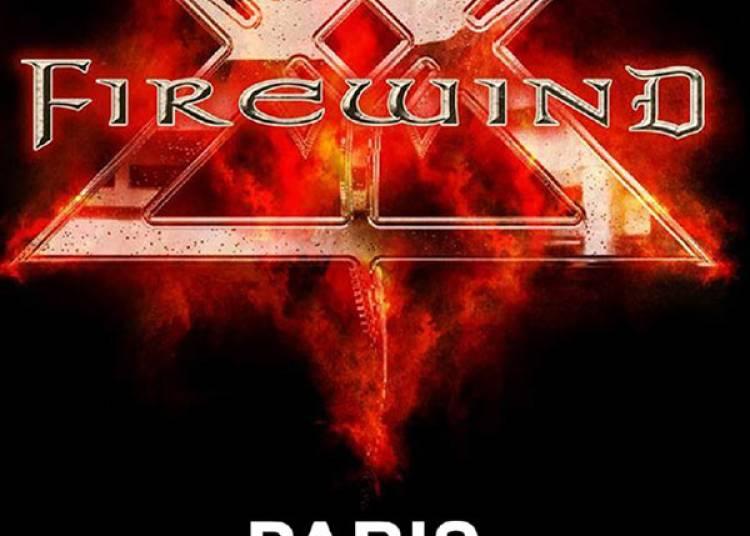 Firewind et Guest � Paris 13�me