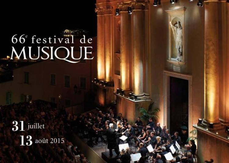 Festival de musique de Menton 2016