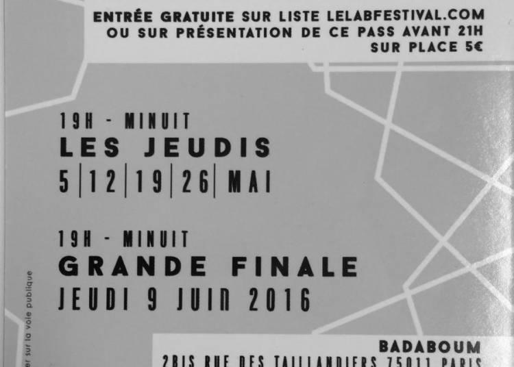 Le Lab Festival � Paris 11�me