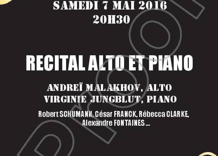 Recital Alto Et Piano � Paris 6�me