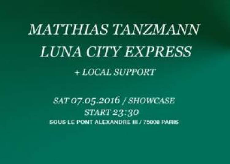 Moon Harbour Label Night : Matthias Tanzmann & Luna City Express � Paris 8�me