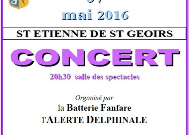 Batterie Fanfare l'Alerte Delphinale � Saint Etienne de saint Geoirs