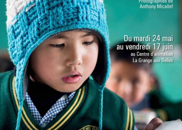 Les enfants de l'Himalaya d'Anthony Micallef � Paris � Paris 10�me