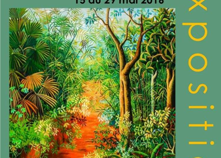 Exposition caritative: Idrissa Diara, artiste d'Espoir Sans Fronti�res � Bourron Marlotte