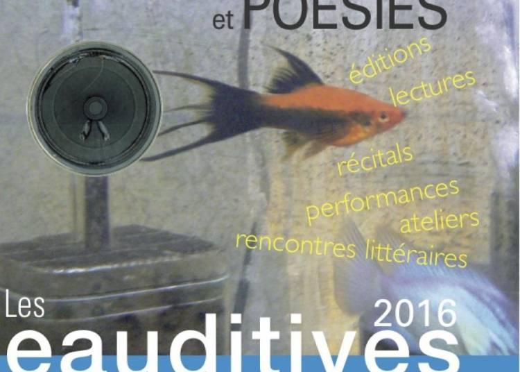 Les Eauditives, Festival d'Art et de Po�sie en Provence verte 2016