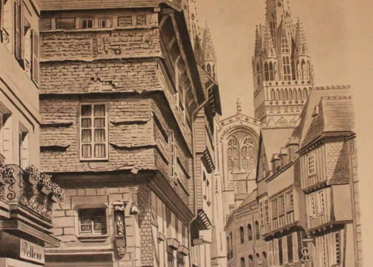Peintures, dessins, portraits et caricatures � Le Sel de Bretagne