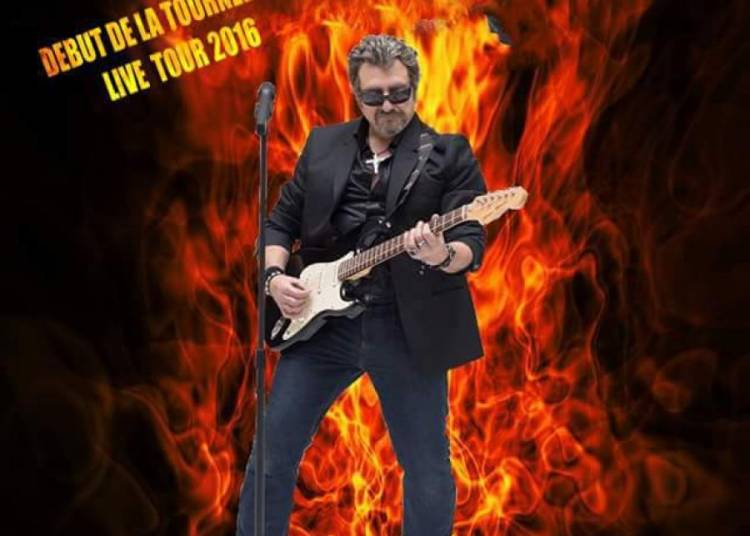 Johnny Twist chante Johnny Hallyday � Rambouillet