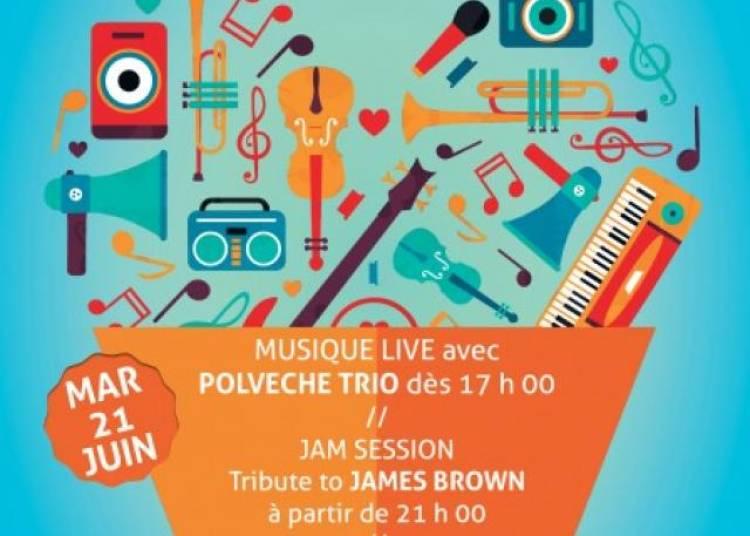 F�te De La Musique - Hommage � James Brown et Sc�ne Ouverte � Paris 14�me