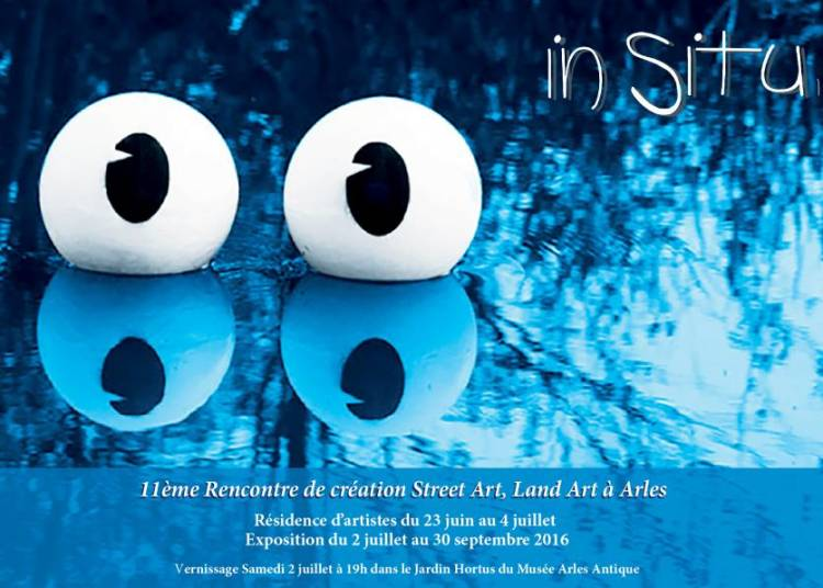 IN SITU 1.1 2016 : Rencontres de cr�ation Land Art, Street Art � Arles