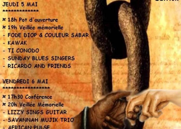 Comm�moration de l'Abolition de l'esclavage � Montpellier