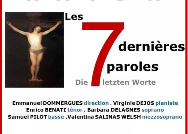 Les 7 Paroles du Christ de HAYDN Oratorio � Paris 6�me