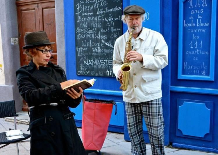 Balade litt�raire autour de Jean-Claude IZZO � Marseille