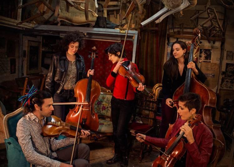 Quintet Bumbac - libre voyage dans les musiques des Balkans � Lyon